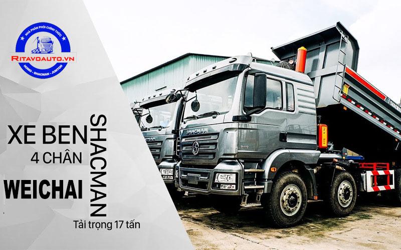 Xe Shacman sở hữu động cơ Weichai mạnh mẽ và bền bỉ vượt trội
