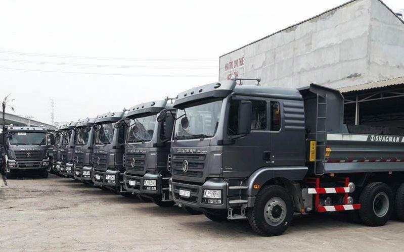 Xe Shacman được bình chọn là dòng xe tải hàng đầu Trung Quốc
